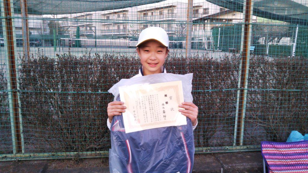 優勝:稲毛 舞桜選手