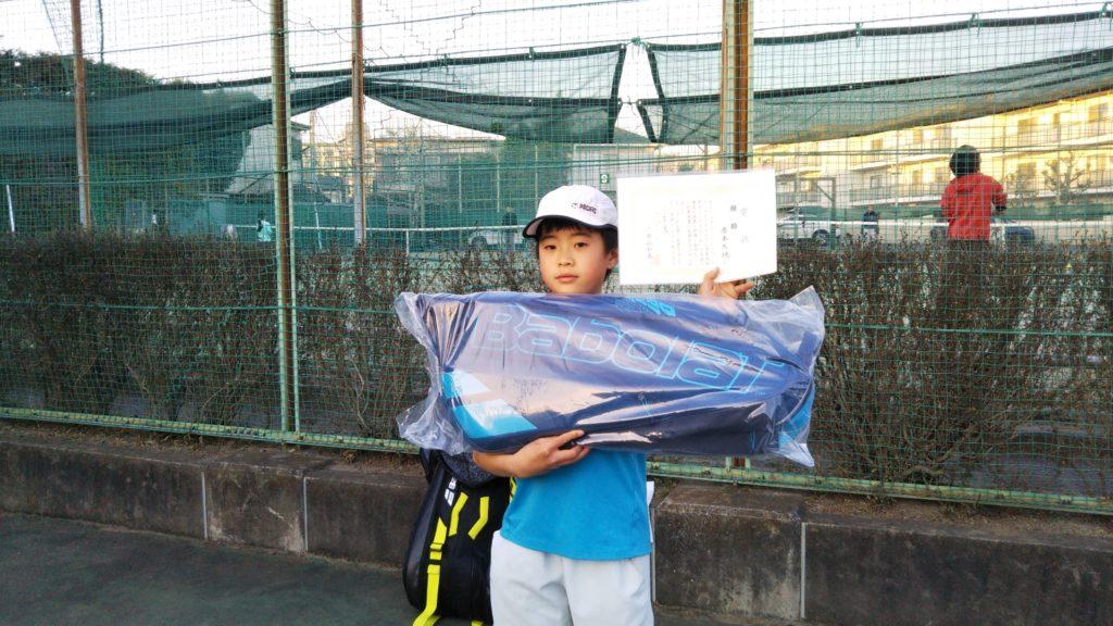 優勝:赤本 大地選手