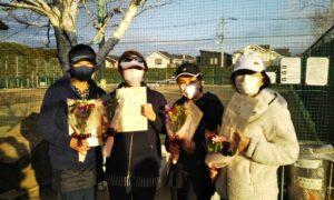 第1655回 関町ローンテニスクラブ 女子チーム戦優勝:『クレア』