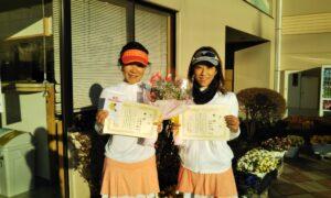 第1656回 緑ヶ丘テニスガーデン 女子ダブルス優勝:長橋・中里ペア