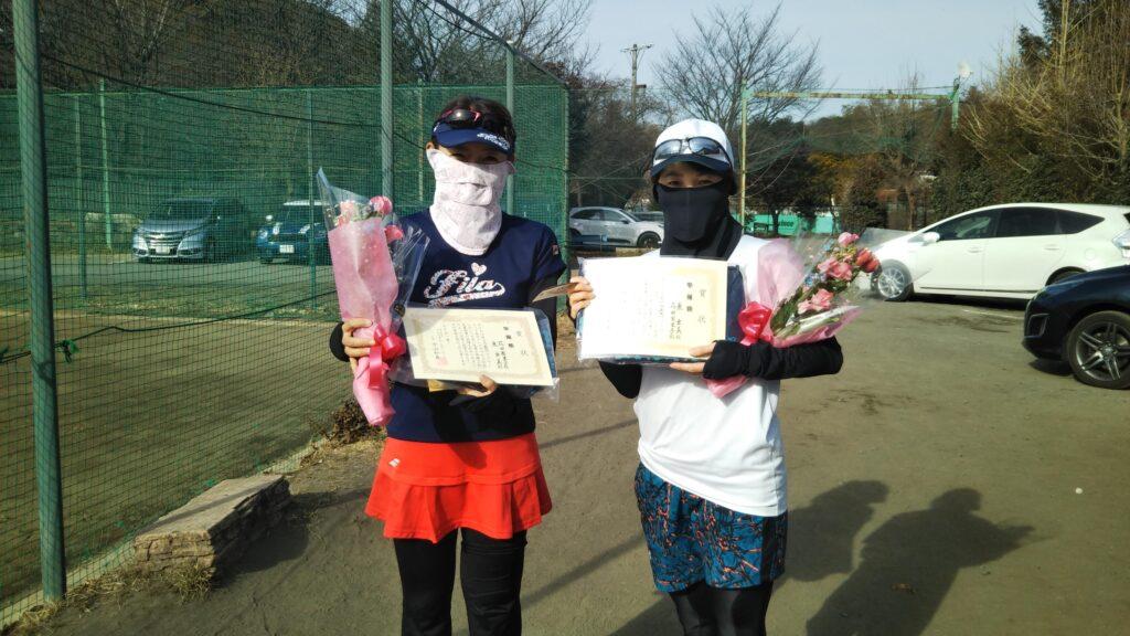 準優勝:花田・東ペア
