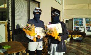 第1659回 緑ヶ丘テニスガーデン 女子ダブルス準優勝:柴山・入舟ペア