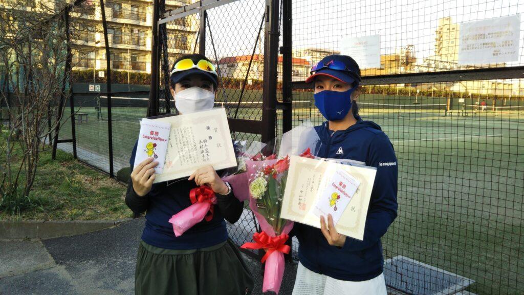 優勝:鈴木・木村ペア