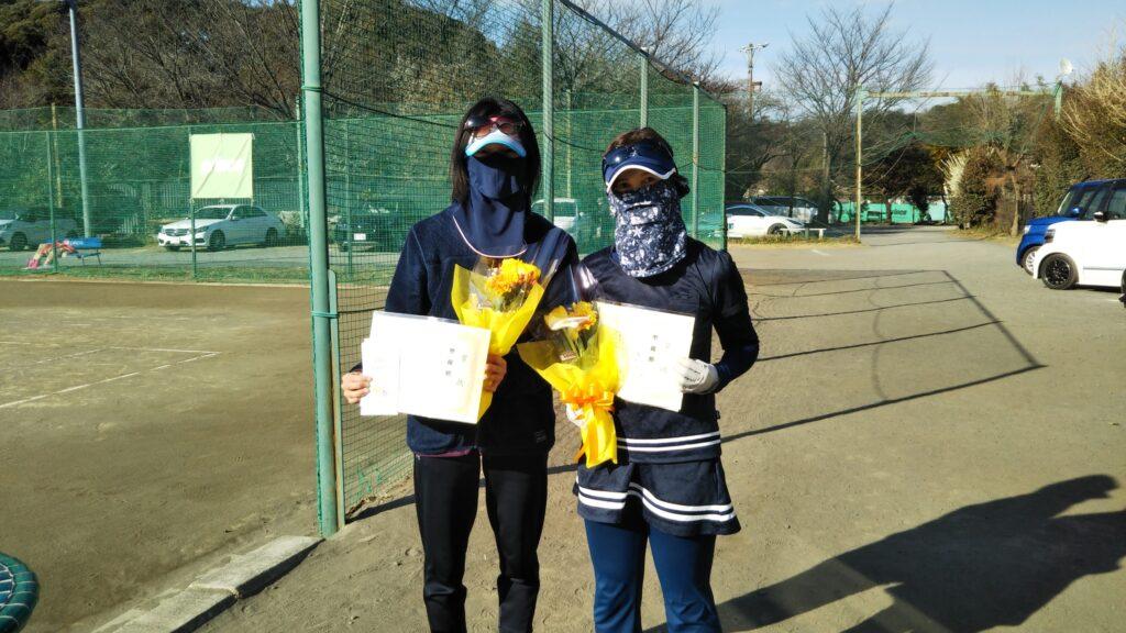 準優勝:橋本・元木ペア