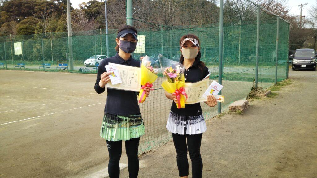 優勝:佐光・入江ペア