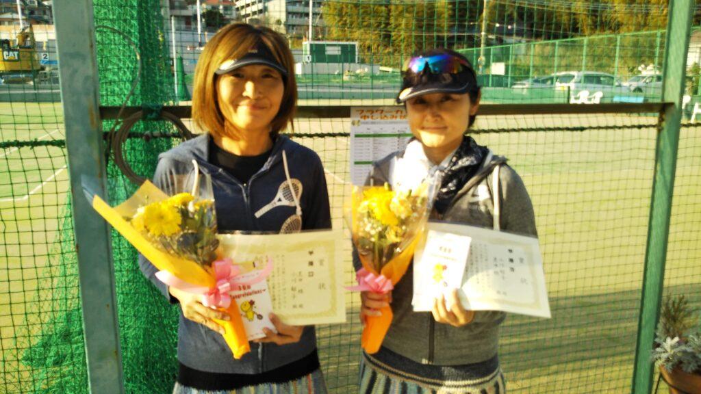 準優勝:黒田・小川ペア