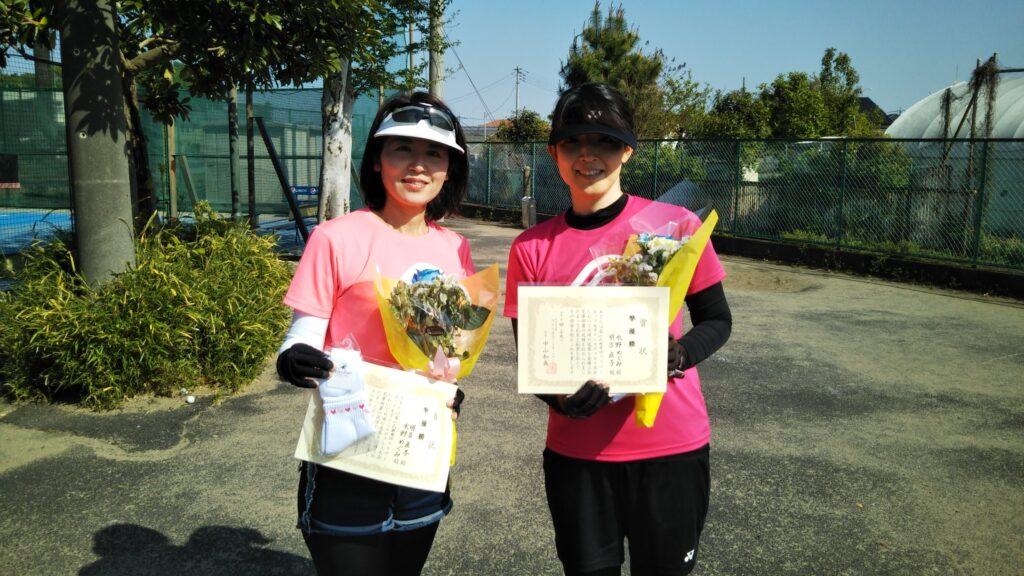 準優勝:明吉・水野ペア