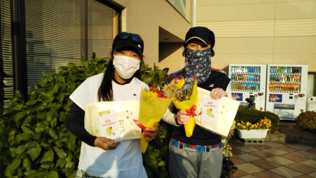 優勝:金子・船津ペア