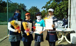 第1692回 桜田倶楽部 女子チーム戦優勝:『プリムローズ』
