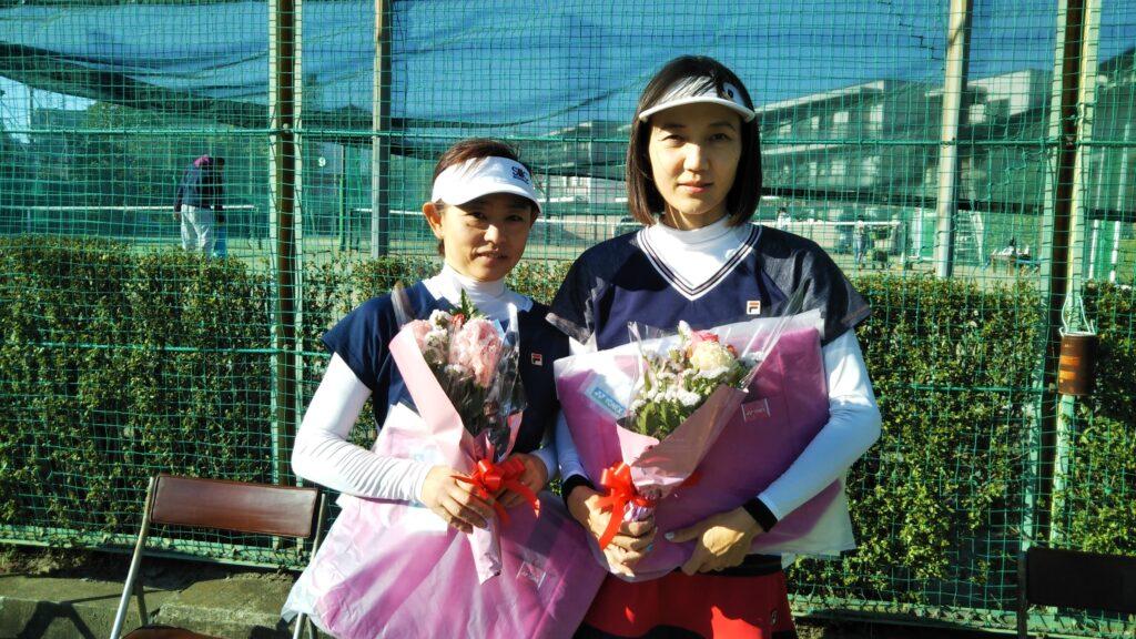 準優勝:田中・西岡ペア