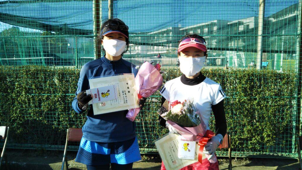 準優勝:古澤・藤井ペア