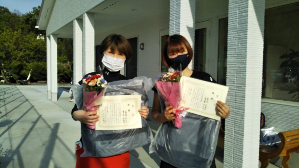 優勝:二階堂・青木ペア