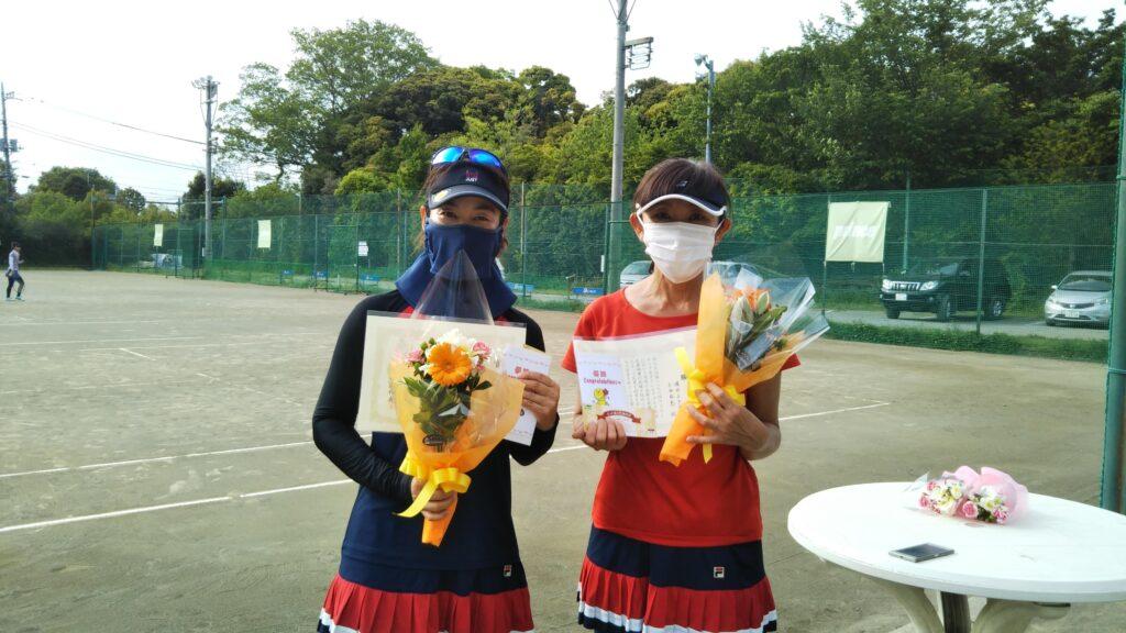 優勝:土田・横田ペア