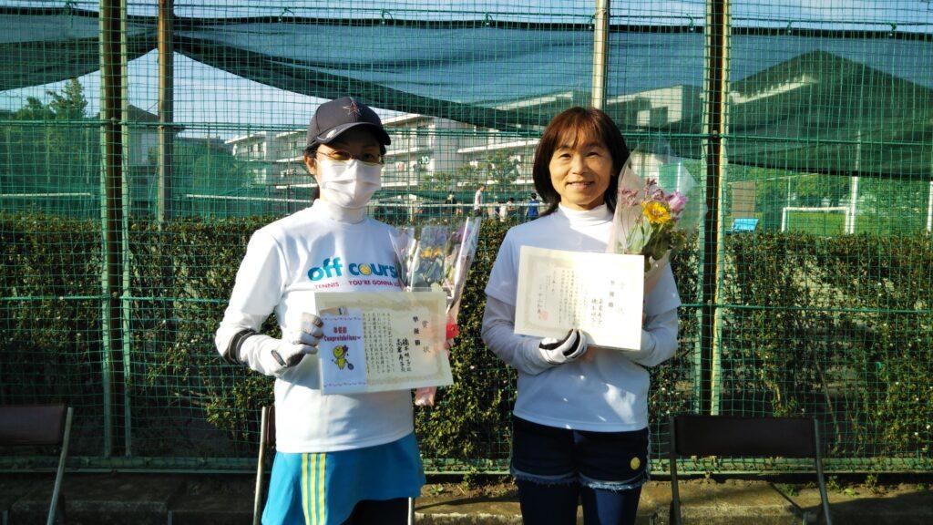 準優勝:橋本・高倉ペア