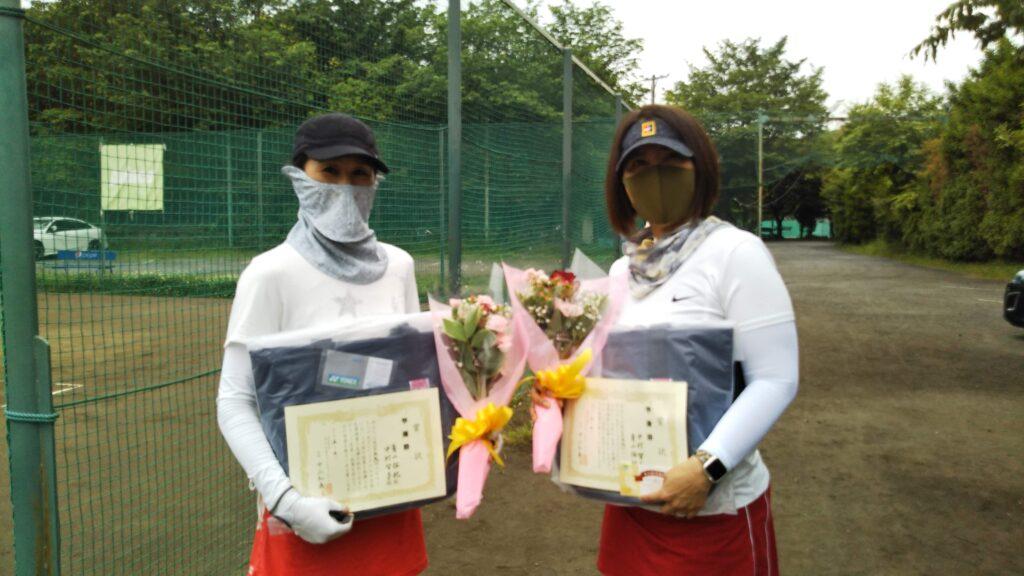 準優勝:青山・中村ペア