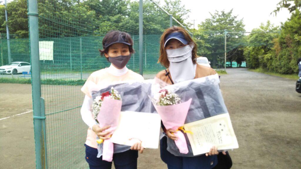 優勝:入江・関口ペア