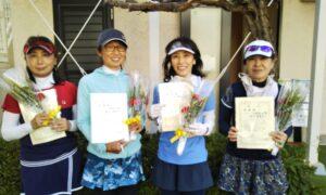 第1700回 南町田インターナショナルテニスカレッジ 女子チーム戦準優勝:『お蝶夫人の会』