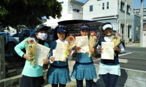 第1700回 南町田インターナショナルテニスカレッジ 女子チーム戦優勝:『グリーン』