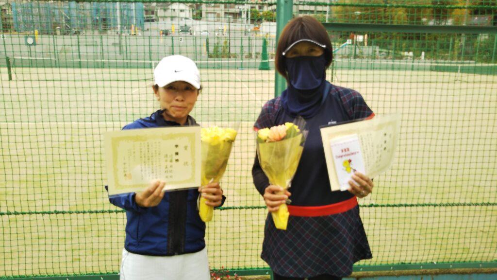 準優勝:近藤・渡井ペア