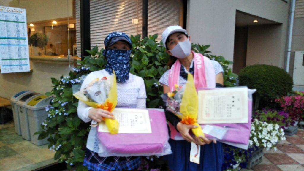 準優勝:渡辺・中島ペア
