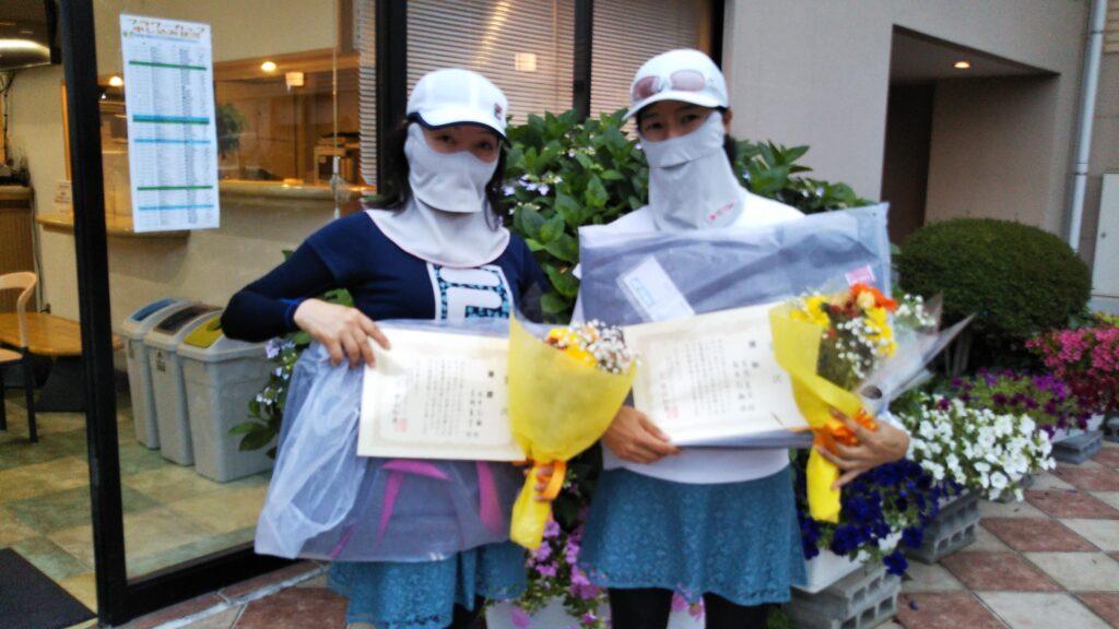 優勝:永井・吉岡ペア