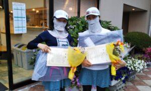 第1706回 緑ヶ丘テニスガーデン 女子ダブルス優勝:永井・吉岡ペア