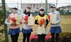 第1709回 関町ローンテニスクラブ 女子チーム戦準優勝:『Keep it up!』