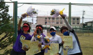 第1709回 関町ローンテニスクラブ 女子チーム戦優勝:『チキンラーメン』