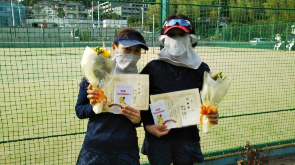 準優勝:野口・高取ペア