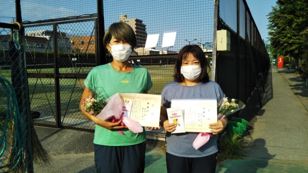 準優勝:相馬・酒井ペア