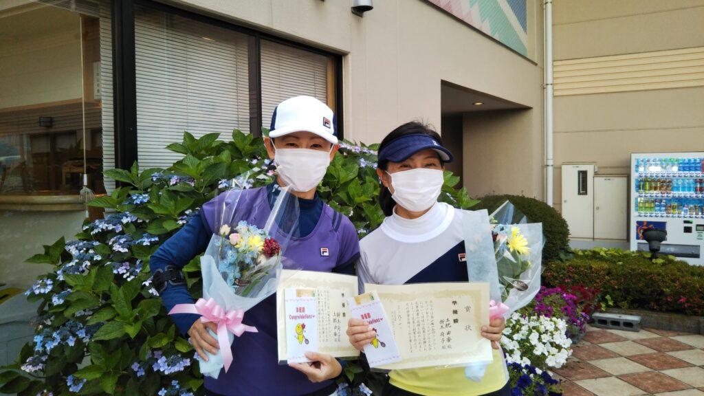 準優勝:鈴木・土肥ペア