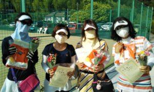第1714回 百草テニスガーデン 女子チーム戦準優勝:『金曜日会』