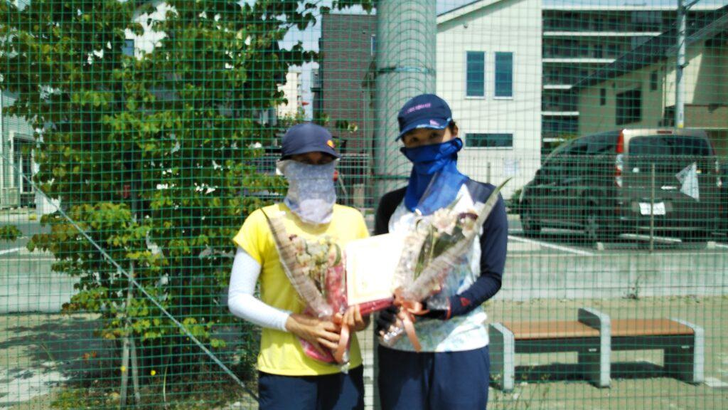 準優勝:東・小濱ペア