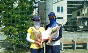 第1718回 南町田インターナショナルテニスカレッジ 女子ダブルス準優勝:東・小濱ペア