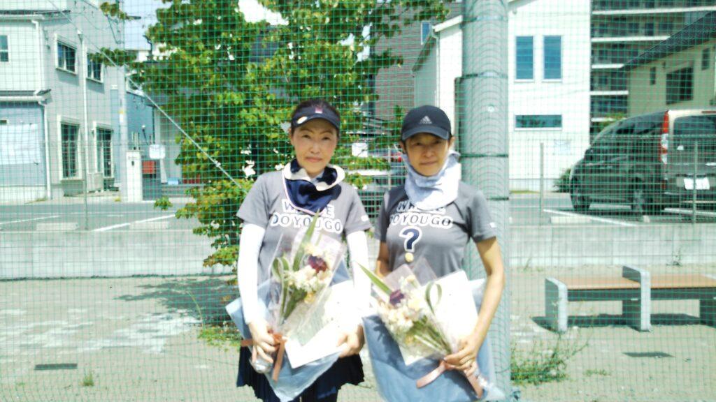 優勝:松本・林ペア