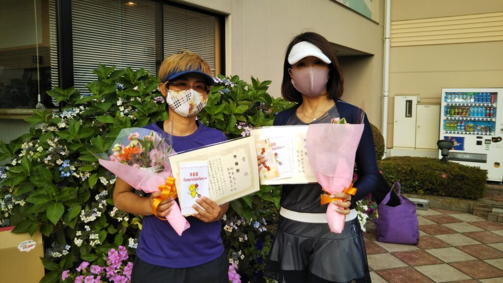 準優勝:松本・浜中ペア