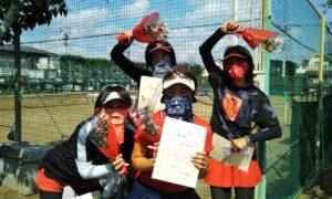 第1722回 関町ローンテニスクラブ 女子チーム戦準優勝:『チャルメラ』