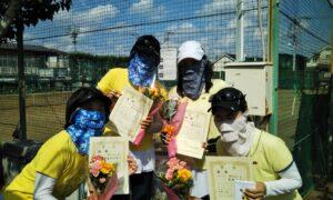 第1722回 関町ローンテニスクラブ 女子チーム戦優勝:『ヨイショッ、ト』