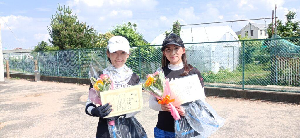 優勝:西岡・山口ペア