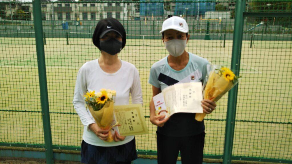 準優勝:宇津木・古山ペア