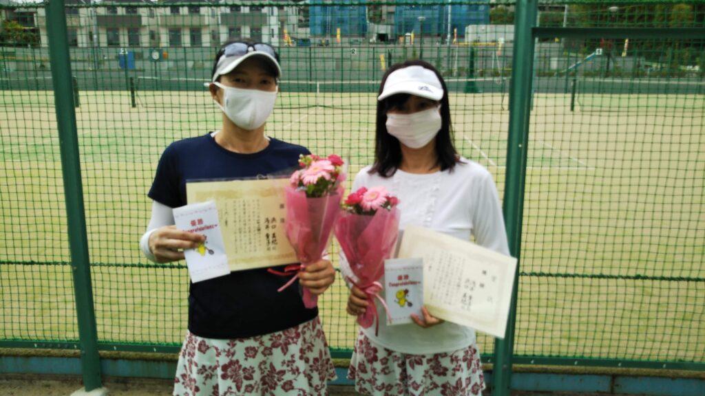 優勝:浜口・浅井ペア