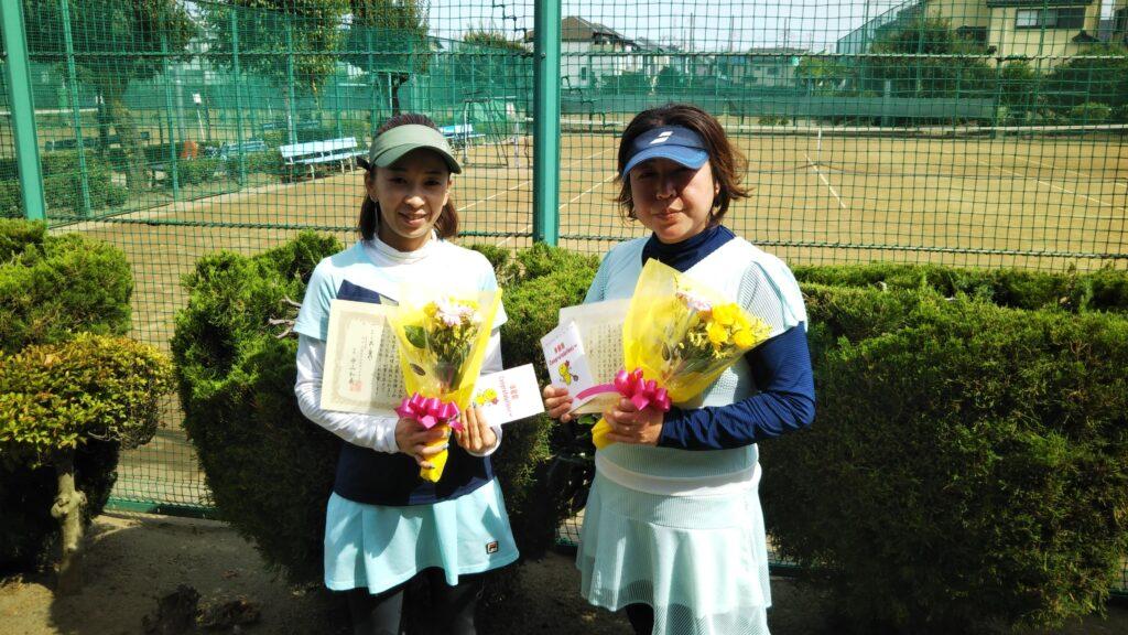 準優勝:安井・野澤ペア