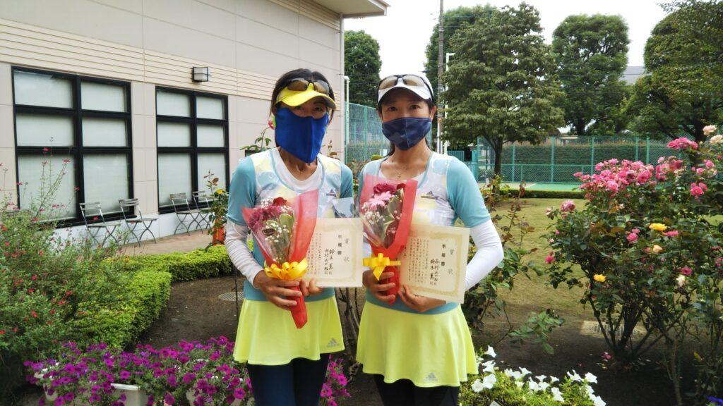 準優勝:鈴木・西村ペア