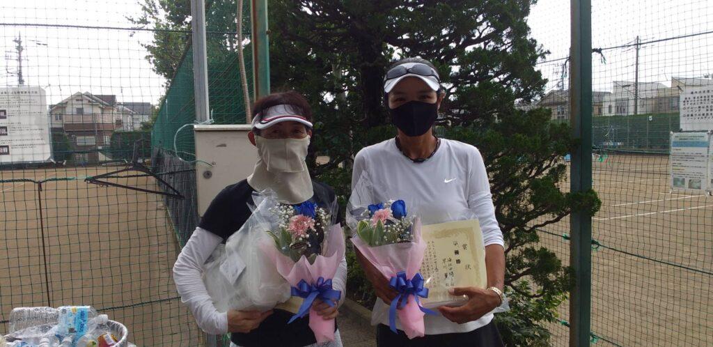 準優勝:早川・海江田ペア