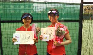 第1742回 桜台テニスクラブ 女子ダブルス準優勝:伊藤・赤塚ペア