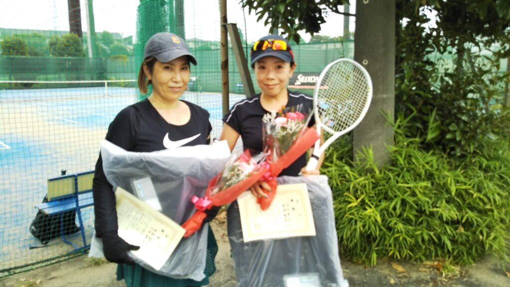 優勝:中村・川口ペア