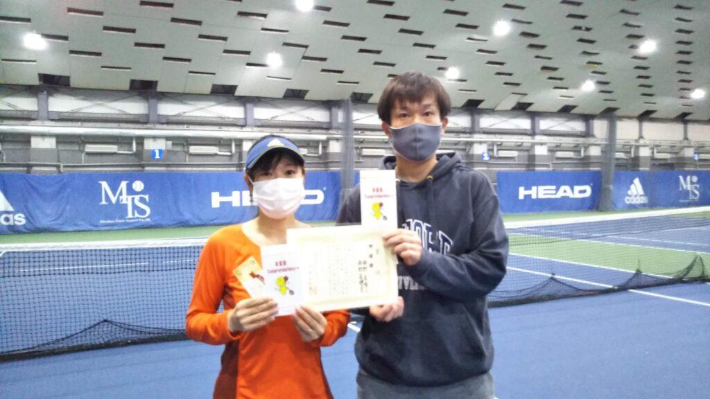 準優勝:西村夫妻