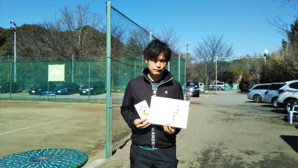 準優勝:紫藤 大樹選手