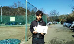 第6回 桜田倶楽部 男子シングルス準優勝:紫藤 大樹選手