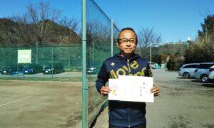 第6回 桜田倶楽部 男子シングルス優勝:安藤 幸輝選手
